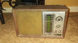 Vintage JC Penny AM/FM Radio with Instant Weather Model 680-5360 Tested ... - $5.00