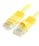 Cmple RJ45 CAT5 CAT5E ETHERNET LAN NETWORK CABLE -15 FT Yellow - 1081-875-N - $8.27