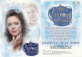 Charmed Forever Paige P-UK Promo Card - $2.50