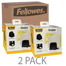 (2 Pack) Fellowes I-Spire Series FileStation Space Saving Organizer (Black) - €25,15 EUR