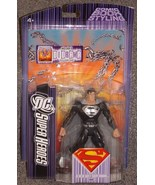 DC Super Heroes Black Suit Superman Figure New In The Package - $49.99
