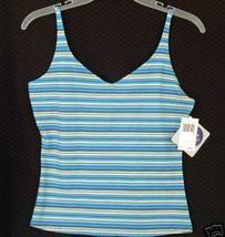 new $20 PLANET SLEEP Cami Camisole stripe Small LIMBO - $9.00