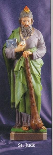 St. jude 24 inch statue