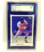 1990 Leaf Sammy Sosa Rookie SGC 96 MINT #220  - $14.99