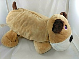 "Stuffies Tan Digger Dog Plush 19"" Red Heart Stuffed Animal Toy - $14.95"