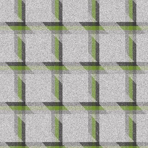 3.25 yds Camira Upholstery Fabric Landscape Balance Plaid Wool Green LDB02 DO