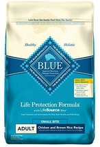 Blue Buffalo Life Protection Natural Small Bites Chicken & Brown Rice Re... - $49.99+