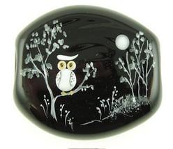 Fenton Jewelry Impression Glass Bead Twitter Li... - $95.00