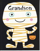 "Greeting Halloween Card ""Grandson"" Hope You'l Have Lots of Fun... - $1.50"