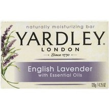 Yardley London English Lavender Soap with Essen... - $25.98