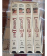 Lonesome Dove boxed set 4 VHS Western Cowboy Series Leaving Trail Plains... - $10.00