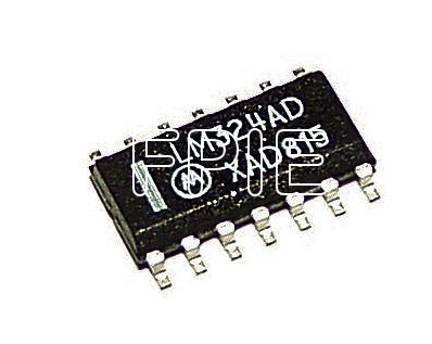 LM324AD Quad Low Power OP Amps Motorola