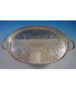 Sheffield Silverplate Tea Tray Gallery Style (#2041) - $768.55