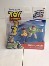 Disney Pixar Toy Story 3 Action Links Hero Buzz Lightyear Woody Buddy Pack - $13.09