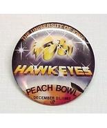 1982 University of Iowa IA Hawkeye Peach Bowl B... - $10.95