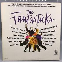 Clásico Fantasticks Reparto Grabación Record Álbum Vinilo LP - £21.99 GBP