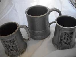 Pewter Mugs - $65.00