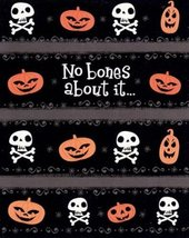 "Greeting Halloween Card ""No Bones About It""... - $1.50"