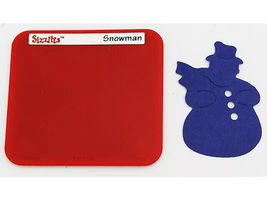 Sizzix Sizzlits Die Set Snowman, Ornament, Holly, Bells image 5