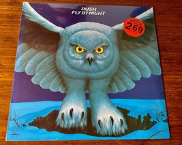 RUSH ~ FLY BY NIGHT ~ ORIGINAL FIRST PRESS LP ~ STILL FACTORY SEALED ~ 1975 - $791.01