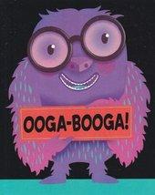 """Greeting Halloween Card """"Ooga-booga!"""" - $1.50"""