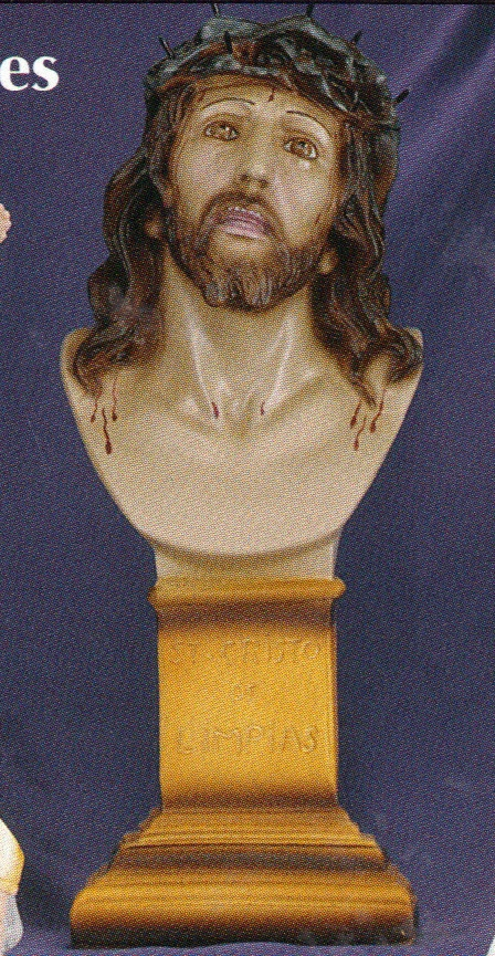 Head of christ 12 inch statue