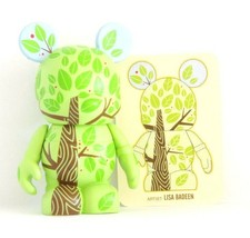 """Disney Parks Epcot Trade City Tree Vinylmation 3"""" Figure and 2 JR. s - $32.62"""
