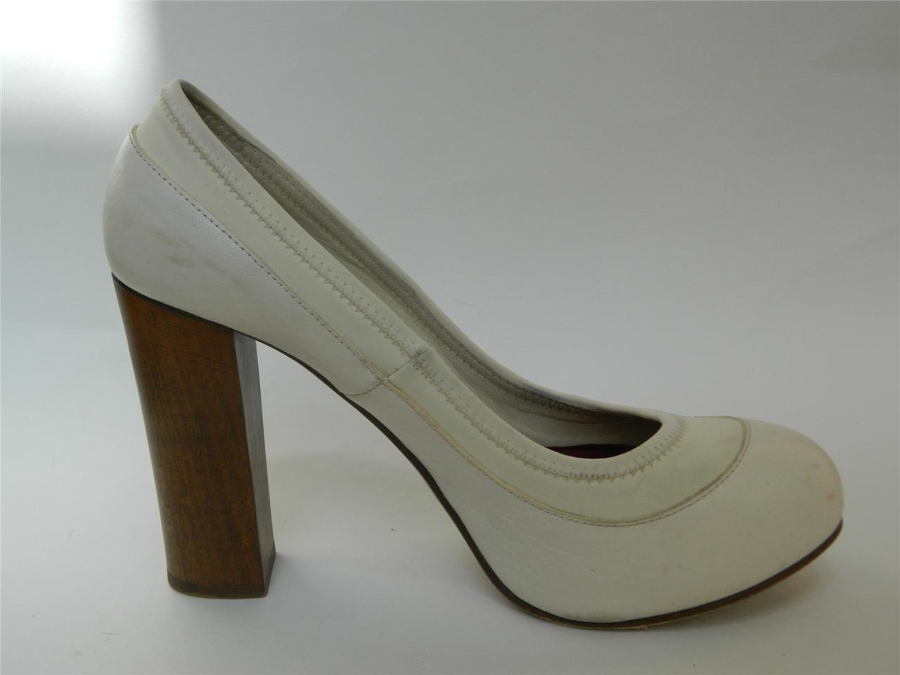 4e3a44596bc CHLOE Pumps Hidden Platform Wooden Heel Off and 18 similar items
