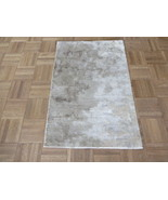 1'11 X 3 Hand Knotted Modern Multi Color Abstract Design Oriental Rug G5836 - $127.84
