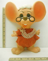 1970 Royalty Ind. Miami FL Roy Des Ms. Santa Claus Bank w/Glasses + Tag ... - $27.81