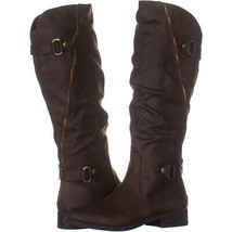 White Mountain Leto Slouch Knee High Boots 895, Taupe, 6 US - $24.95