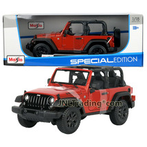 Maisto Special Ed 1:18 Die Cast Copper Compact SUV 2014 JEEP WRANGLER TO... - $49.99