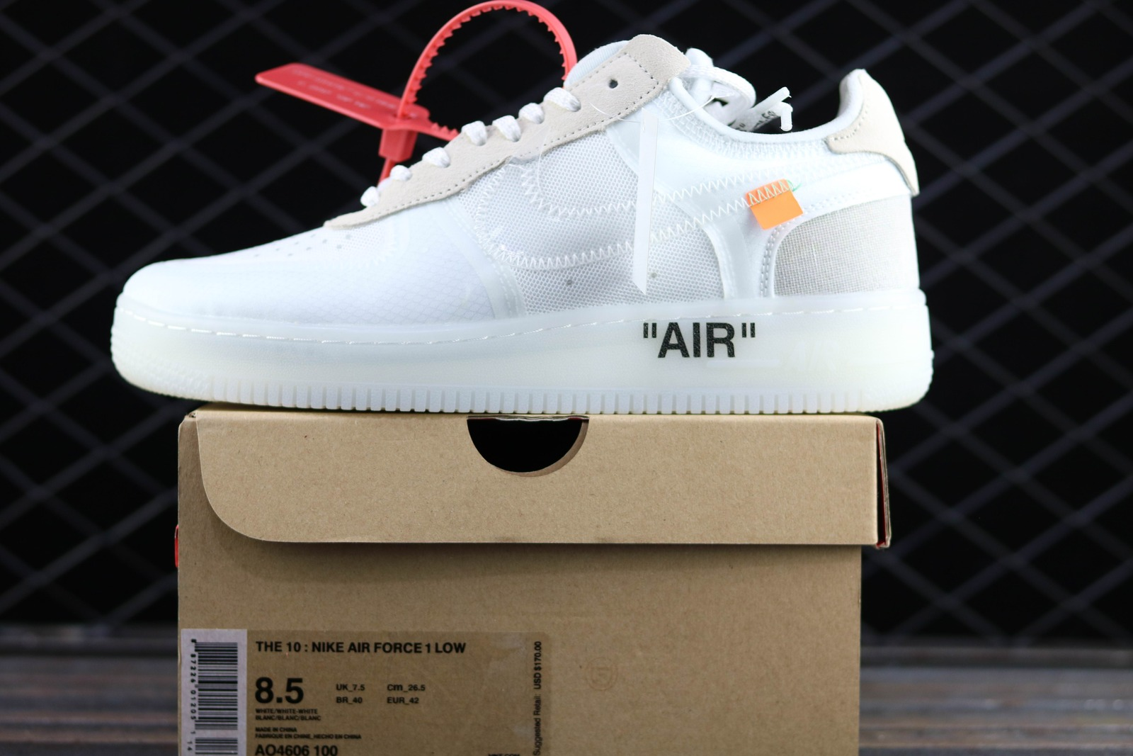 best sneakers 6de05 380be ... promo code for nike air force 1 x offwhite and 50 similar items c23ab  7099f