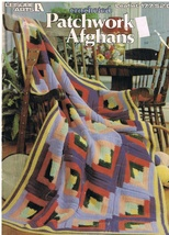 Leisure Arts Leaflet 177 Crocheted Patchwork Afghans Patterns - $5.99