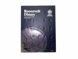 Whitman Coin Folder/Album, Roosevelt Dime # 3, 2005-2010  - $5.99