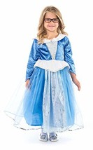 Little Adventures Deluxe Sleeping Beauty Blue Princess Dress Up Costume ... - $48.59