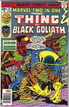 Marvel Two-In-One Comic Book #24 The Thing and Black Goliath Marvel 1977 FINE+ - $3.75