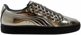 Puma Basket XL Lace Metal Puma Black 364536 01 Women's Size 5.5 - $53.15
