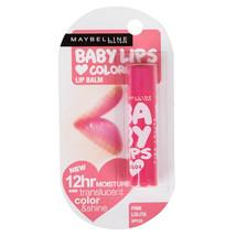 Maybelline Baby Lips Translucent Color Shine Moisture SPF20 Pink Lolita Lip Balm - $7.63