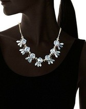 NEW Leslie Danzis Gold Plated Faceted Tulip Beaded Crystal Necklace image 2