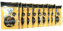 10 Count Delightibles 3 Oz Chicken Flavor Center Filled Cat Treats BB 2/... - $28.99