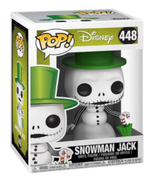 Funko Pop Snowman Jack Skellington Nightmare Before Christmas 448 Vinyl ... - $15.70