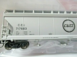 Intermountain # 67079 C&EI 4650 3-Bay Covered Hopper N-Scale image 2