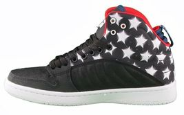 Supra Stevie Williams S1W Badge Shoes Stars & Stripes Black Navy White Sneakers image 4