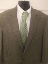 Andrew Fezza Blazer gray black  Herringbone Size 46L - $27.72