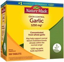 Nature Made Odor Control Garlic 1250 mg., 300 Tablets - $23.75