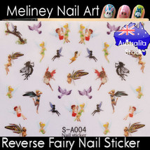 Fairy Tinkerbell Nail Art Stickers decorations Craft Supplies Crafting F... - $5.36