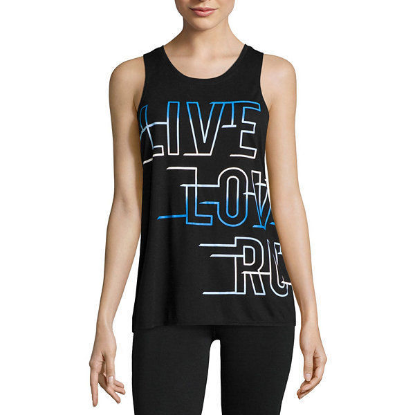 City Streets Graphic Muscle Tank Top Juniors Size M, XXL New - $9.99