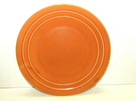 """Vintage Pacific Pottery Dinner Plate #613 Solid Orange 11"""" Clay Products... - $197.01"""