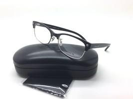 Coach Women Silver Square New Eyeglasses HC 6098 S 5431 Black 53 Plastic - $64.37